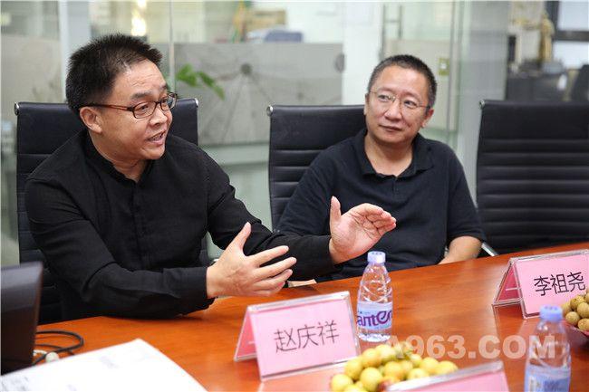 深圳市室内设计师协会执行会长赵庆祥